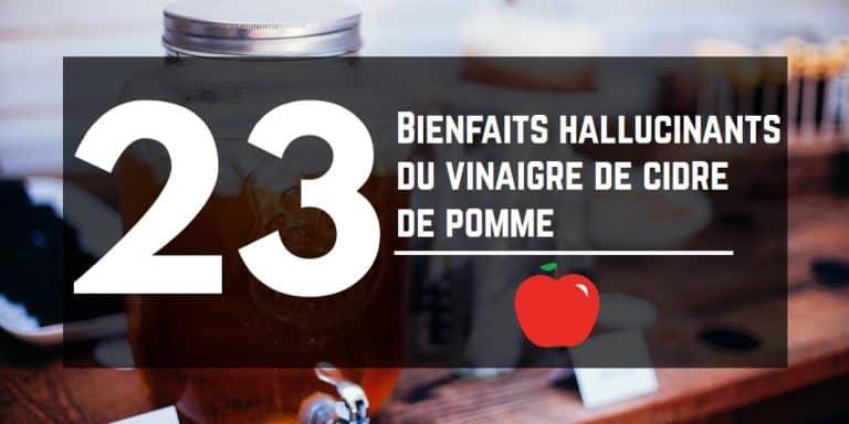 23 utilisations hallucinantes du Vinaigre de Cidre de pomme