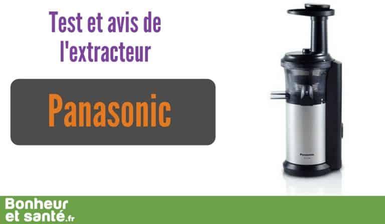 L'extracteur de jus Panasonic : un excellent appareil milieu de gamme