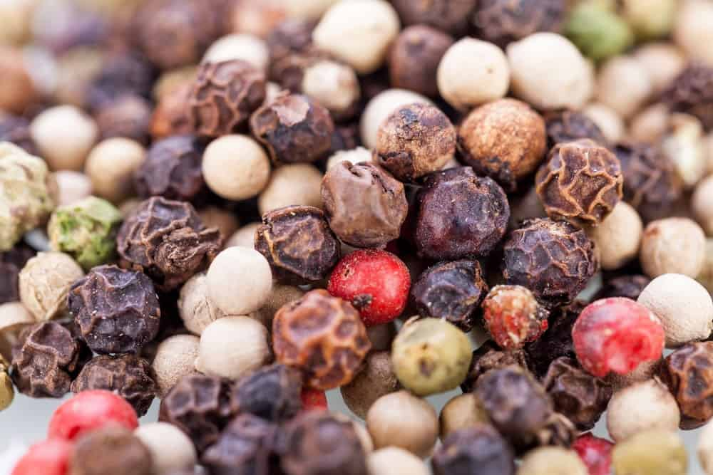 Piperine-varietes de poivre