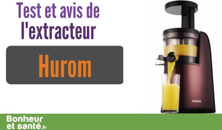 L'extracteur Hurom 2nd generation: attention haut de gamme