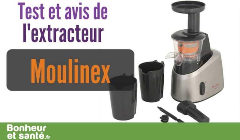 Test et avis de l'extracteur de jus Moulinex