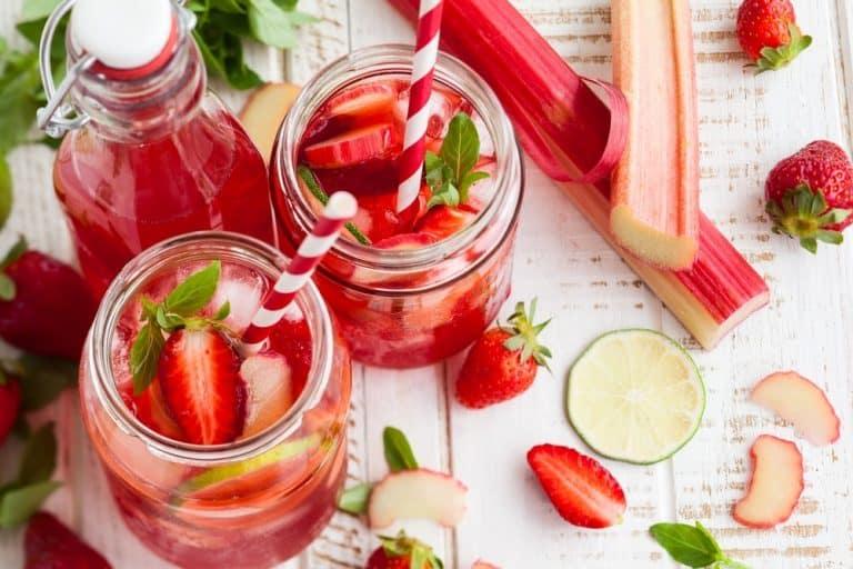 6 bonnes raisons de boire du jus de rhubarbe
