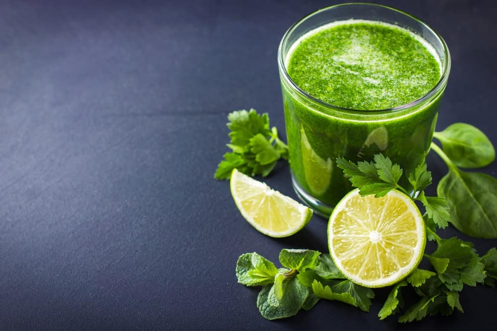 Persil et citron-boisson-