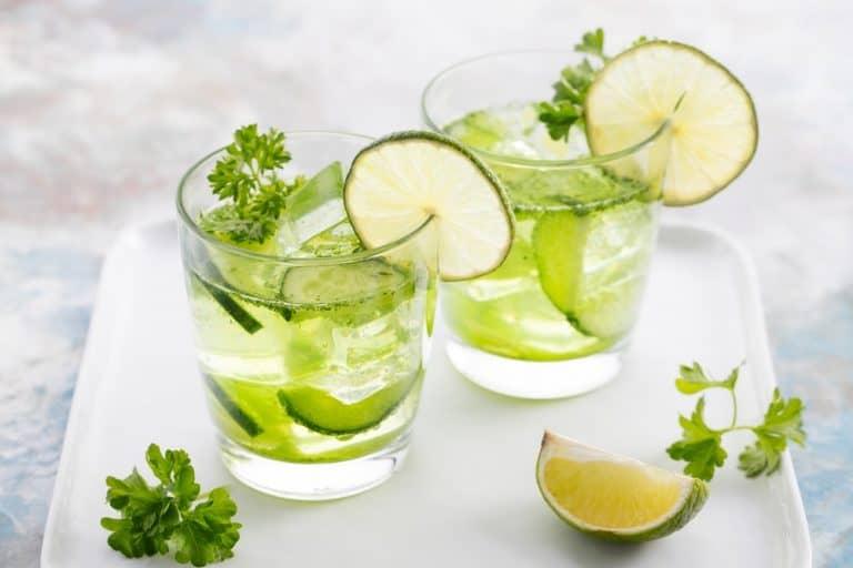 Les 12 bienfaits de la boisson persil citron