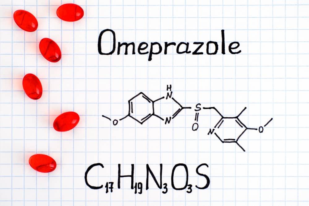 omeprazole-composition